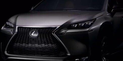 'Lexus NX' apvidnieka dizaina izstrāde