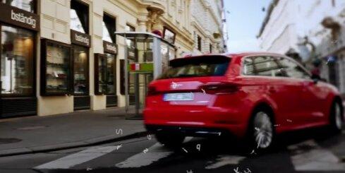 No elektroligzdas lādējamais 'Audi A3' hibrīds