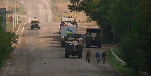 Ukrainas karaspēks turpina atbrīvot separātistu ieņemtās teritorijas