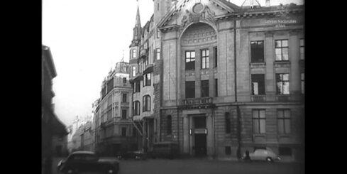 Arhīva video: Latvijas Radio telpu atklāšana, 1949. gads