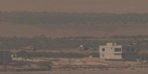 Turcijas tanku desmiti iebraukuši Sīrijā