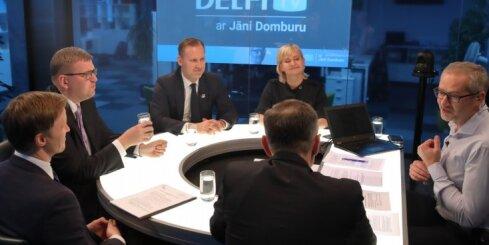 'Delfi TV ar Jāni Domburu' atbild valdības sarunu vedēji