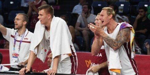 Latvijas izlase un Porziņģis starp 'Eurobasket 2017' statistikas līderiem