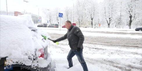 Ziema Latvijā ieradusies uz palikšanu, liecina jaunākās prognozes