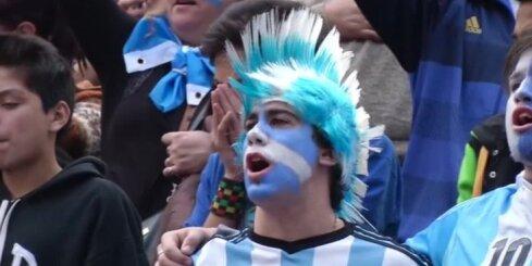 Argentīnas futbola fani
