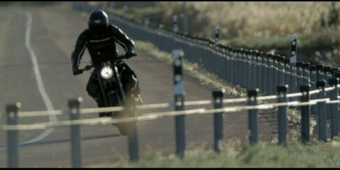 Igaunijā radīts retro stila motocikls 'Renard GT'