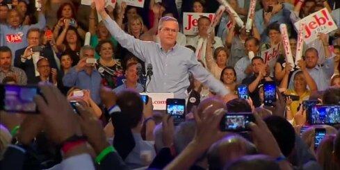 Jau trešais Bušs centīsies kļūt par ASV prezidentu