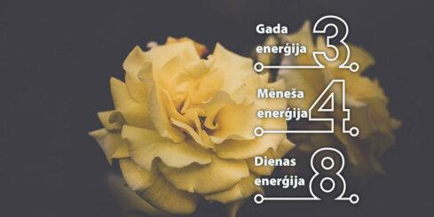 22. janvāra numeroloģiskais dienas fons