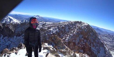 Video no Ojos del Salado virsotnes