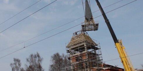 Rīgā Sv.Antona baznīcai uzceļ torni