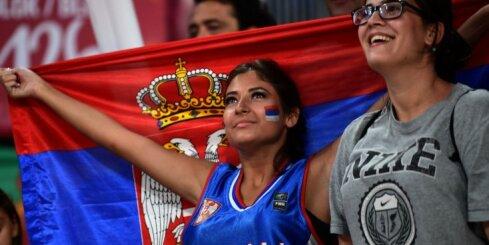 Latvijas vienīgās pāridarītājas Slovēnija un Serbija noskaidros Eiropas čempionvienību