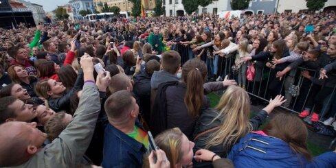 Литва встретила своих баскетболистов как героев (ВИДЕО, ФОТО)
