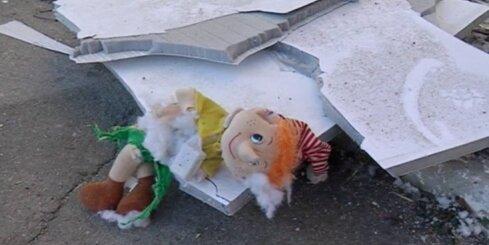 В Донецке обстреляли детский сад: один человек пострадал