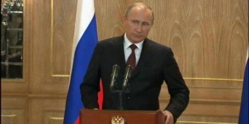 Krievija uz parāda Ukrainai neko nepiegādās, paziņo Putins