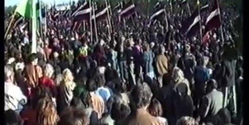 Arhīva video: 1990. gada 4. maijs