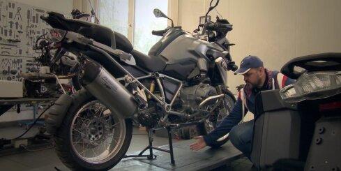 Kā ieziemot motociklu
