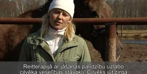 Reitterapija - zirgs daktera lomā