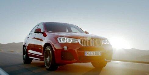 Jaunais BMW apvidnieks 'X4'