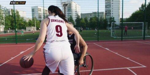 #BeActive vēstneši aicina piedalīties Eiropas Sporta nedēļas pasākumos