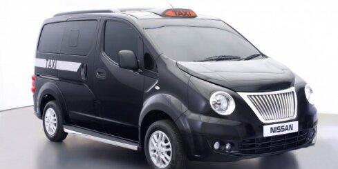 'Nissan' modernizētais Londonas taksometrs