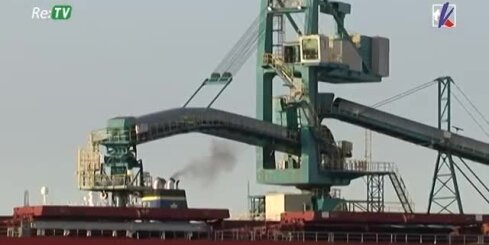 Ventspils ostas terminālu radītais gaisa piesārņojums