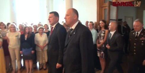 Dzimtenes aizstāvēšana ir svētākais pienākums, atzīst aizsardzības ministrs Bergmanis