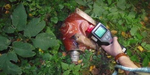Rīgas mežā atrasts radioaktīvs priekšmets