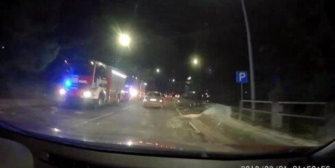 Avārija uz autoceļa Rīga–Ērgļi