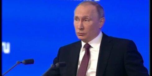 Krimā cilvēki dzīvo trūcīgāk nekā Krievijā, atzīst Putins