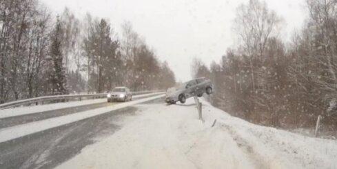 Autoavārijas pie Siguldas