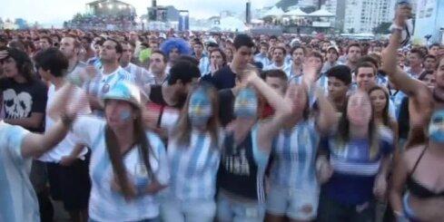 Argentīnas futbola izlase pēc 24 gadu pārtraukuma iekļūst Pasaules kausa finālā