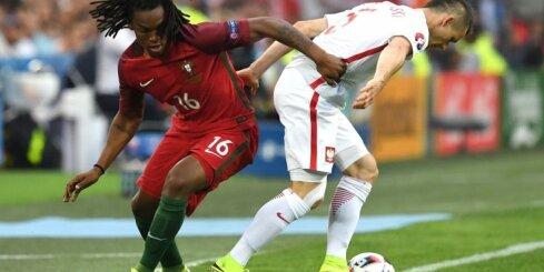 Французский тренер попросил прощения у игрока португальской сборной