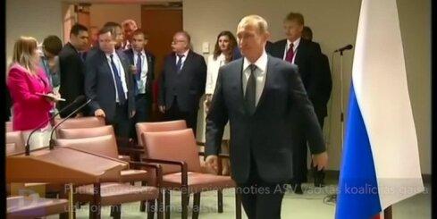 Putins neizslēdz iespēju pievienoties ASV vadītās koalīcijas gaisa uzlidojumiem 'Islāma valstij'