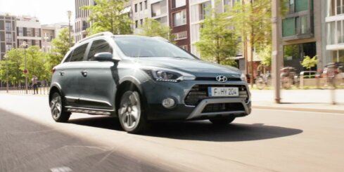 'Hyundai i20' paaugstinātās pārgājības versijā 'Active'
