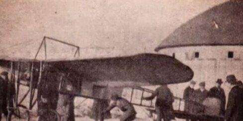 Kur pacēlās pirmā Latvijas lidmašīna?