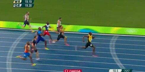 Bolts turpina savu dominanci olimpisko spēļu sprinta distancēs