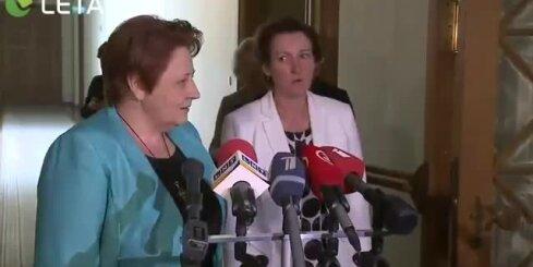 Izglītības ministre Seile dziesmu svētku dēļ neatkāpsies