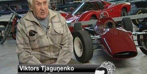 'Ātruma cilts' - stāsts par autosporta veterānu Tjaguņenko