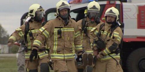 Gaisa spēku aviācijas bāzē Lielvārdē norisinās mācības 'Gaisa Dūre 16'