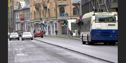 Atjaunos Čaka un Marijas ielas segumu