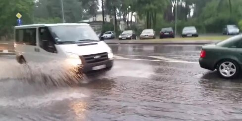 Plūdi Jūrmalā