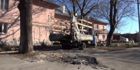Skola Doņeckā apšaudīta no separātistu kontrolētās teritorijas