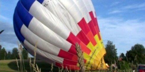Kopā [14.07.09.] No ratiņkrēsla gaisa balonā
