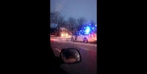 Autoavārija pie Salaspils