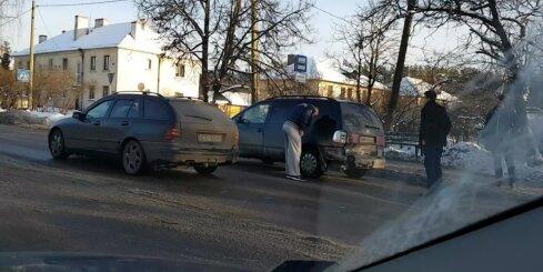 Autoavārija Lubānas ielā