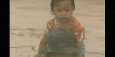 Taifūns Filipīnās laupījis dzīvību vismaz četriem cilvēkiem