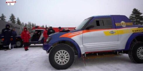 'RE Autoclub' komanda aizvada testus pirms dalības FIA Pasaules kausa pirmā posma rallijreidā 'Northern Forest'