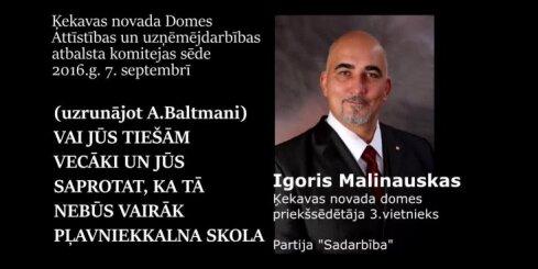 Malinausks un Damlics par direktori