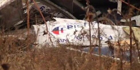 Beidzot savāktas notriektās Malaizijas lidmašīnas atlūzas