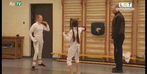 Daugavpilī attīstās paukošanās sports
